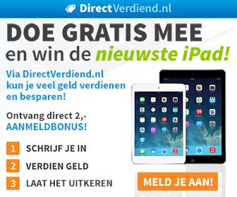 Online geld verdienen en besparen met DirectVerdiend.nl